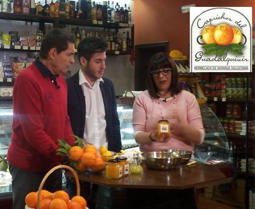 Nuestra Mermelada de Naranja y Antonio José participante de «La Voz» en el programa «Este es mi Pueblo» en Palma del Rio.